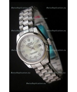 Rolex Datejust Oyster Perpetual Superlative ChronoMeter Swiss Steel Watch