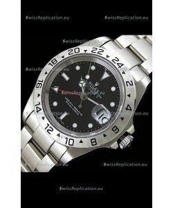 Rolex Explorer II Swiss Replica Automatic Watch in Black Dial