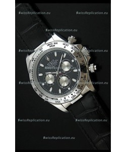 Rolex Daytona Japanese Replica Steel Watch in Silver Subdials
