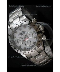 Rolex Daytona Japanese Replica Steel Watch in Diamond Hour Markers