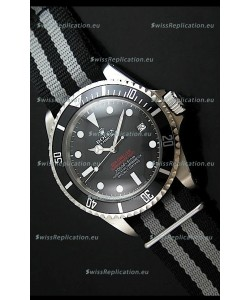 Rolex Oyster Vintage Date Sea-dewller Submariner Swiss Replica Watch in Black Dial