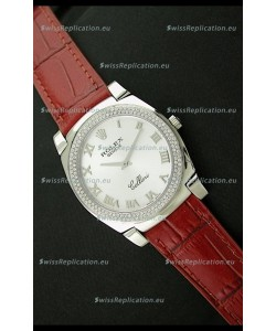 Rolex Cellini Japanese Replica Watch in Roman Hour Markers