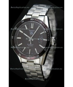 Tag Heuer Carrera Calibre 5 Swiss Replica Watch in Brown Dial