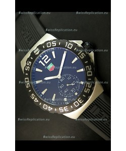 Tag Heuer Formula 1 Japanese Replica Watch in Quartz Movement - Black Dial