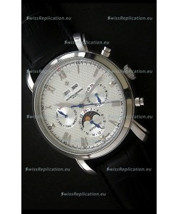 Vacheron Constantin Perpetual Calendar Japanese Watch in Silver