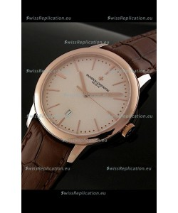 Vacheron Constantin Geneve Automatic Swiss Watch in Rose Gold