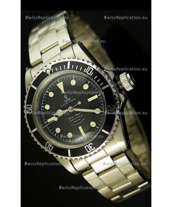 Tudor Submariner 5514 Vintage Style No Date Swiss Watch - 1:1 Ultimate Mirror Replica