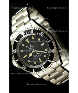Rolex Vintage Sea Dweller Polizia Di Stato Left Hand Edtiion Swiss Watch