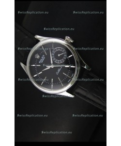 Rolex Cellini Date 50519 Swiss Replica Watch in Black Dial