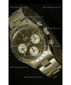 Rolex Daytona 6263 Cosmograph Brown Coffee Dial Steel Bezel