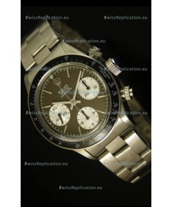 Rolex Daytona 6263 Cosmograph Brown Coffee Dial Black Bezel