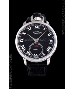 Chopard Louis-Ulysse The Tribute Stainless Steel Black Dial Swiss Watch
