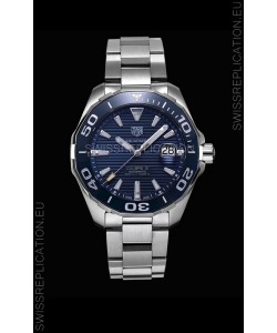 Tag Heuer Aquaracer Calibre 5 1:1 Mirror Replica Watch Blue Dial
