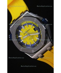 Audemars Piguet Royal Oak New Diver 1:1 Swiss Replica Watch in Yellow