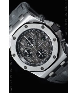 "Audemars Piguet Royal Oak Offshore Chronograph ""Elephant"" 1:1 Mirror 904L Steel Watch"