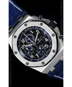 "Audemars Piguet Royal Oak Offshore Chronograph ""The Real Batman"" 1:1 Mirror 904L Steel Watch"