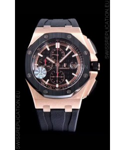 Audemars Piguet Royal Oak Offshore Méga Tapisserie Dial 1:1 904L Steel Watch