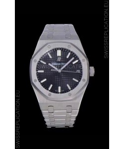 Audemars Piguet Royal Oak 41MM Blue Dial 904L Steel - 1:1 Mirror Replica