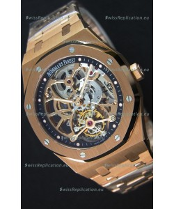 Audemars Piguet Royal Oak Tourbillon Extra-Thin Openworked Rose Gold Watch