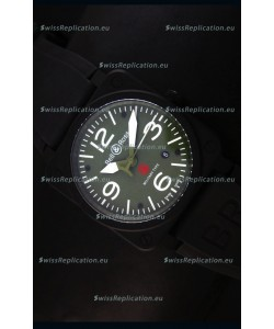 Bell & Ross BR03-92 Green Dial Swiss Replica Watch