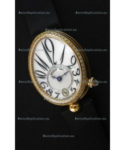 Breguet Reine De Naples Ladies Swiss 1:1 18K Yellow Gold Replica Watch