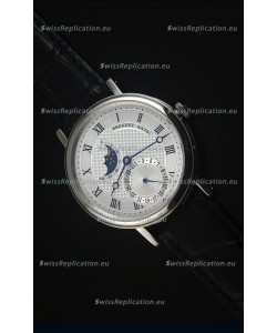 Breguet Classique Moonphase Stainless Steel Swiss Replica Watch