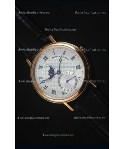 Breguet Classique Moonphase Rose Gold Swiss Replica Watch