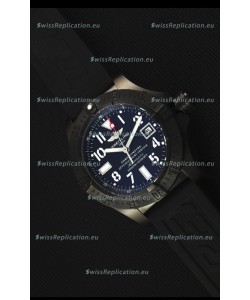 Breitling Avenger Blacksteel DLC Coated Swiss Replica Watch in Black Dial