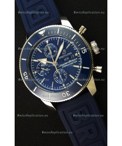 Breitling Superocean Heritage II Blue Dial 46MM 1:1 Mirror Swiss Replica Watch