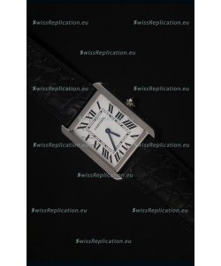 Cartier Tank Solo Swiss Quartz Leather Strap Small Size 24MM Wide