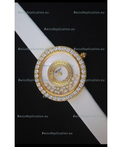 Chopard Happy Dreams 36MM White Strap in White Dial