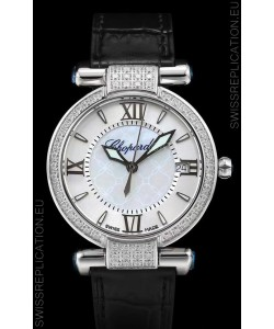 Chopard Imperiale White Dial Swiss Automatic Replica Watch in 904L Steel