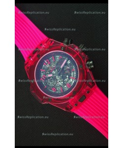 Hublot Big Bang Unico Red Sapphire Quartz Replica Watch 45MM
