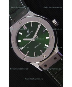 Hublot Big Bang Classic Fusion 38MM 1:1 Mirror Replica Watch Green Dial