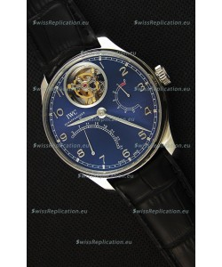 IWC Portugieser Tourbillon Mystere Retrograde Blue Dial UPDATED 2019 Version