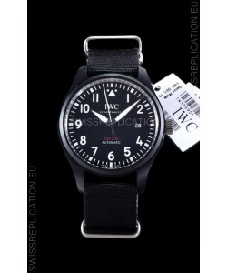 IWC Pilot's Automatic Top Gun 1:1 Mirror Replica Watch in Ceramic Case