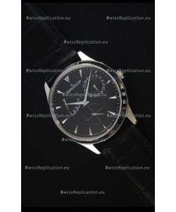Jaeger-LeCoultre Master Ultra Thin Réserve De Marche Black Dial 1:1 Mirror Replica Watch