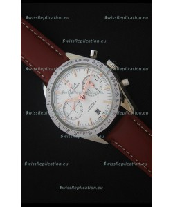 Omega Speedmaster 57 Co-Axial Chronograph Watch in Brown Leather Strap