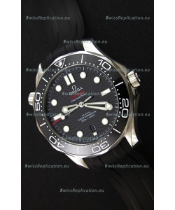 Omega Seamaster 300M Co-Axial Master Chronometer BLACK Swiss 1:1 Mirror Replica Watch