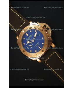 Panerai PAM617T Bronzo Replica Watch - Updated Ultimate Edition Version - Blue Dial