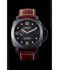 Panerai Luminor Marina PAM661 Carbotech 1:1 Mirror Replica Watch 2020 Improved Version