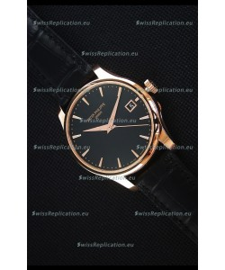 Patek Philippe #Ref 5227 Yellow Gold Watch in Black Dial 1:1 Swiss Replica Watch