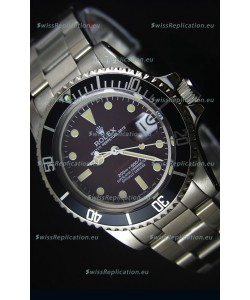Rolex Submariner 1680 Vintage Edition Coffee Dial Swiss Watch 1:1 Mirror Replica Edition