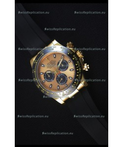 Rolex Daytona 116515 Everose 1:1 Mirror Replica Yellow Gold Swiss Watch
