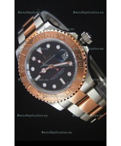 Rolex Yacht-Master 40 Everose Gold Swiss Replica Watch with 2836-2 Movement