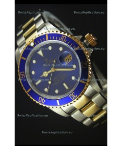 Rolex Submariner 16613 Two Tone Swiss Replica 1:1 Watch with Swiss 3135 Movement