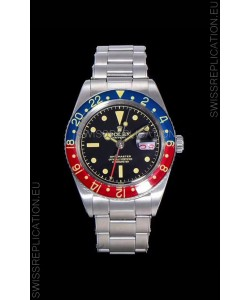 Rolex GMT Master 1675 PEPSI Vintage Edition Swiss Replica Watch