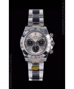 Rolex Daytona 116519 White Gold Original Cal.4130 Movement - 1:1 Mirror 904L Steel Watch