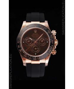 Rolex Daytona 116515LN Everose Cerachrom Original Cal.4130 Movement - 1:1 Mirror 904L Steel Watch