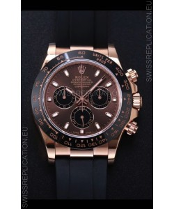 Rolex Daytona 116515LN-0041 Everose Gold Original Cal.4130 Movement - 1:1 Mirror 904L Steel Watch